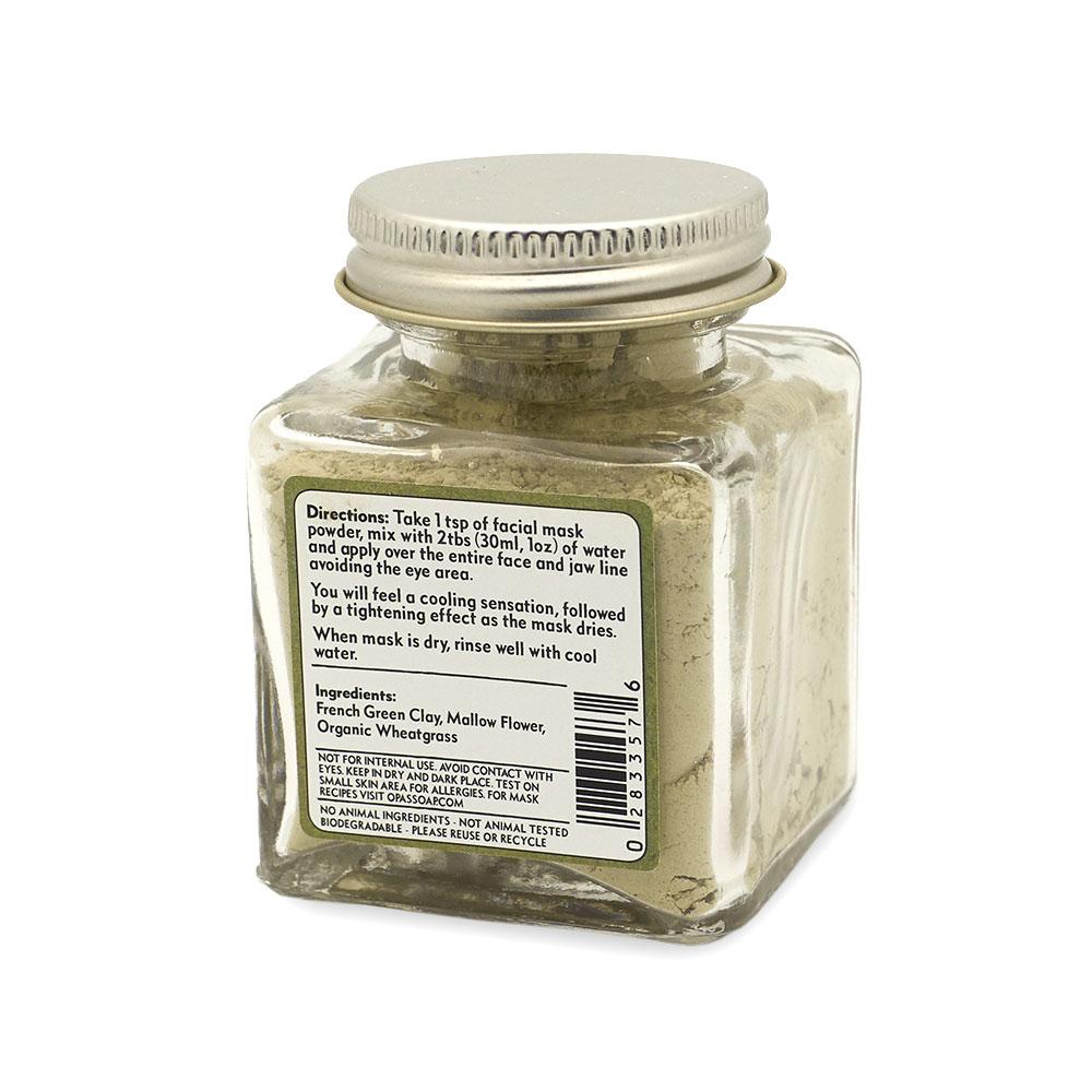Wheatgrass Facial Mask Powder