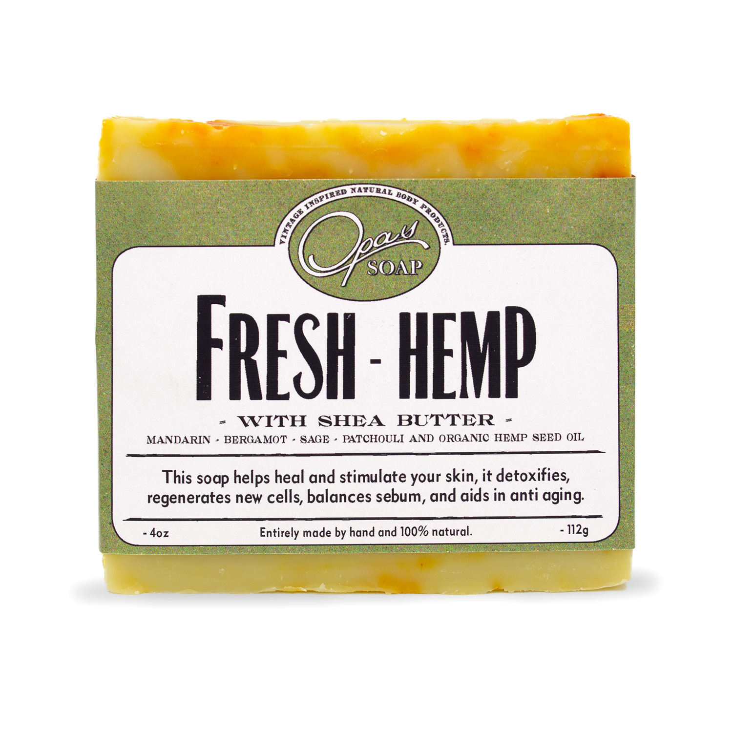 Fresh Hemp Soap
