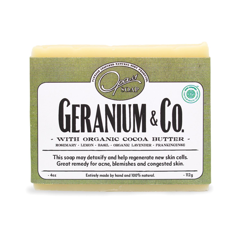 Geranium & Co Soap