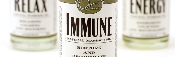 The benefits of immune massage oil